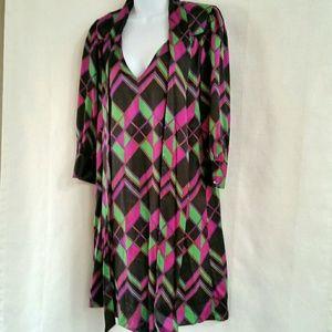 Diane Von Furstenberg silk dress 2